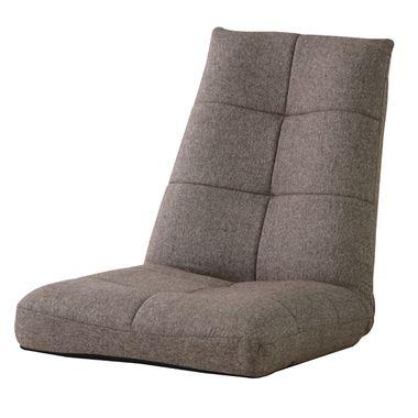 リクライニングチェア 座椅子 ブラウン 茶色 ( 低反発 座いす チェア チェアー 1人掛け ソファー ソファ 座イス 低い 低い椅子 リクライニング )