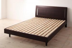 ベッド 安い セミダブル セミダブルベッド セミダブルサイズ すのこベッド ( フレームのみ ) ブラウン