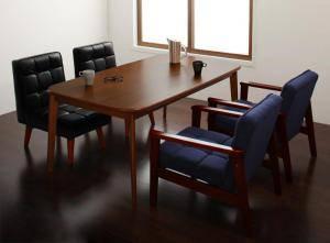 ダイニングセット ダイニングテーブルセット 4人 四人 4人用 四人用 椅子 ソファー ソファ ダイニングテーブル おしゃれ 安い 北欧 食卓 ( 5点(テーブル+1Pソファ2脚+チェア2脚)幅160 )
