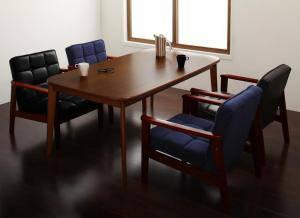 ダイニングセット ダイニングテーブルセット 4人 四人 4人用 四人用 椅子 ソファー ソファ ダイニングテーブル おしゃれ 安い 北欧 食卓 ( 5点(テーブル+1Pソファ4脚)幅160 )