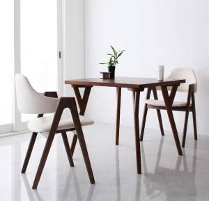ダイニングセット ダイニングテーブルセット 2人 二人 2人用 二人用 椅子 ダイニングテーブル 一人暮らし おしゃれ 安い 北欧 食卓 レザー 革 合皮 ( 3点(テーブル+チェア2脚)幅80 )