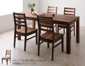 ダイニングセット ダイニングテーブルセット 4人 四人 4人用 四人用 椅子 ダイニングテーブル おしゃれ 安い 北欧 食卓 ( 5点(テーブル+チェア4脚)ウォールナット PVC座幅160 )