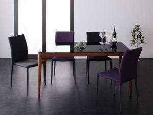 ダイニングセット ダイニングテーブルセット 4人 四人 4人用 四人用 椅子 ダイニングテーブル おしゃれ 安い 北欧 食卓 ( 5点(テーブル+チェア4脚)ウォールナットブラック幅150 )