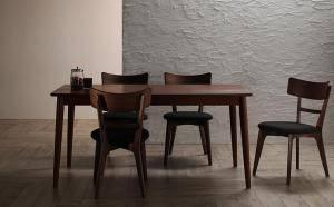【人気沸騰】 ダイニングテーブルセット 4人用 椅子 おしゃれ 安い 北欧 食卓 5点 ( 机+チェア4脚 ) 幅150 デザイナーズ クール スタイリッシュ ミッドセンチュリー 引き出し 収納, 多摩区 c83522fd