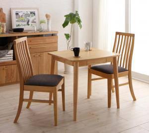 ダイニングセット ダイニングテーブルセット 2人 二人 2人用 二人用 椅子 ダイニングテーブル 一人暮らし おしゃれ 安い 北欧 食卓 ( 3点(テーブル+チェア2脚)ナチュラル幅75 )