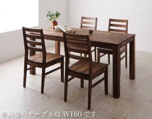 ダイニングセット ダイニングテーブルセット 4人 四人 4人用 四人用 椅子 ダイニングテーブル おしゃれ 安い 北欧 食卓 ( 5点(テーブル+チェア4脚)ウォールナット 板座幅180 )