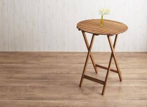 ガーデンテーブル おしゃれ 格安 屋外 カフェ テラス ガーデン 庭 ベランダ バルコニー アジアン( テーブルラウンドタイプ幅60 )