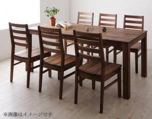 ダイニングセット ダイニングテーブルセット 6人 六人 6人用 六人用 椅子 ダイニングテーブル おしゃれ 安い 北欧 食卓 ( 7点(テーブル+チェア6脚)ウォールナット 板座幅180 )