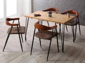 ダイニングセット ダイニングテーブルセット 4人 四人 4人用 四人用 椅子 ダイニングテーブル おしゃれ 安い 北欧 食卓 ( 5点(テーブル+チェア4脚)幅120 )