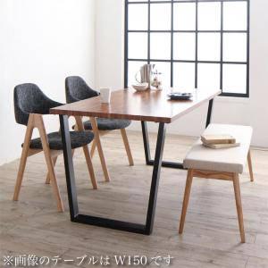 ダイニングセット ダイニングテーブルセット 4人 四人 4人用 四人用 椅子 ダイニングテーブル ベンチ おしゃれ 安い 北欧 食卓 ( 4点(テーブル+チェア2脚+ベンチ1脚)NA幅120 )