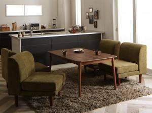 ダイニングセット ダイニングテーブルセット 4人 四人 4人用 四人用 椅子 ソファー ソファ ダイニングテーブル おしゃれ 安い 北欧 食卓 ( 5点(テーブル+1Pソファ4脚)幅135 )