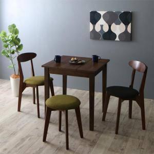 ダイニングセット ダイニングテーブルセット 3人 三人 3人用 三人用 椅子 ダイニングテーブル おしゃれ 安い 北欧 食卓 ( 4点(テーブル+チェア2脚+スツール1脚)ブラウン 幅68 )