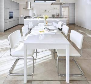 ダイニングセット ダイニングテーブルセット 6人 六人 6人用 六人用 椅子 ダイニングテーブル おしゃれ 伸縮 伸縮式 伸長式 安い 北欧 食卓 ( 7点(テーブル+チェア6脚)幅135-235 )