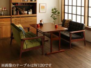 ダイニングセット ダイニングテーブルセット 4人 四人 4人用 四人用 椅子 ソファー ソファ ダイニングテーブル ベンチ おしゃれ 安い 北欧 食卓 ( 3点(テーブル+2Pソファ2脚)幅150 )