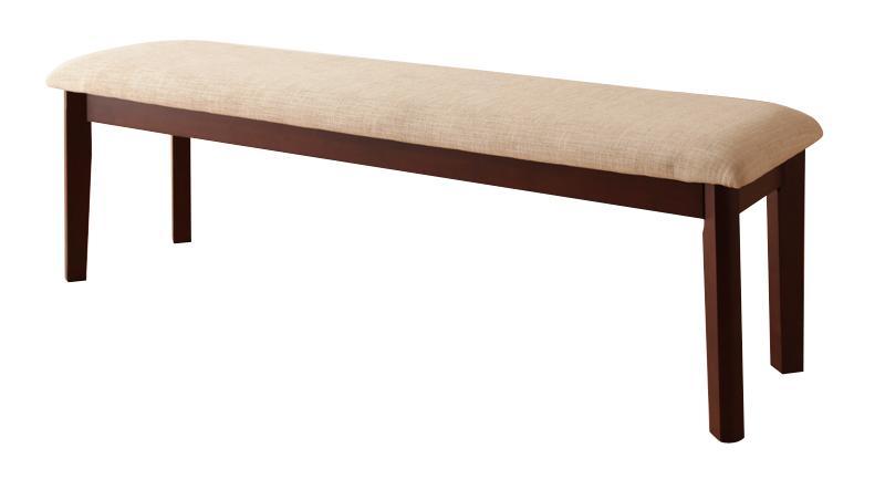 ダイニングチェア 北欧 ダイニング ベンチ (W130) 【 ブラウン 茶色 】【椅子 チェア イス いす オフィスチェア ハイバック カフェ 肘掛 肘あり 肘付き 肘置き 脚 おしゃれ かわいい 背もたれ 木製 送料無料】