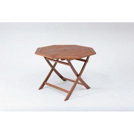 ガーデンテーブル テーブル カフェテーブル アウトドアテーブル BBQテーブル ガーデンファニチャー ガーデン ガーデン家具 バーベキュー キャンプ アウトドア 釣り ブラウン 茶色