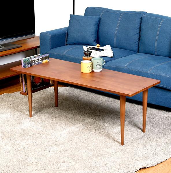 センターテーブル ローテーブル おしゃれ 北欧 木製 リビングテーブル コーヒーテーブル 応接テーブル デスク 机 ブラウン 幅120 奥行50 高さ35