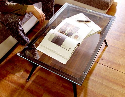 机 文机 テーブル コーヒーテーブル ブラウン デスク 応接テーブル 茶色 ローテーブル リビングテーブル センターテーブル
