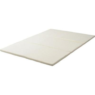 マットレス 厚 低反発 三つ折り 白 ダブル 4 cm ホワイト 厚 ホワイト 白, tari'sグリーン:23d4b940 --- officewill.xsrv.jp
