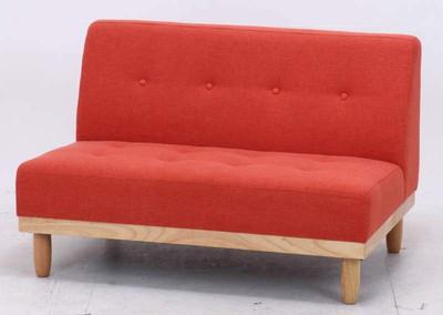 レッド 赤 ベンチ ソファ ソファー 2Pソファー 二人掛けソファー 2人掛けソファー 2P 2人掛け ダイニングベンチ ベンチチェア 長椅子 チェアー いす 椅子 イス 腰掛け 北欧 おしゃれ