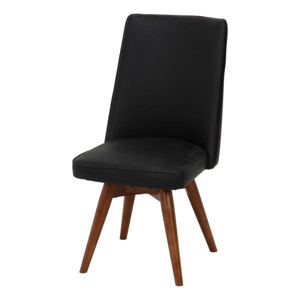 ダイニングチェア 椅子 おしゃれ 北欧 レトロ 軽量 安い モダン カフェ PC ブラック 幅44 奥行56 高さ83 座面高43