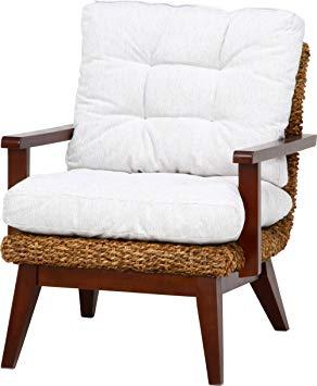 ホワイト 白 ブラウン 茶色 ソファー 1Pソファー 一人掛けソファー 1人掛けソファー 1P 1人掛け チェア いす 椅子 イス アジアン