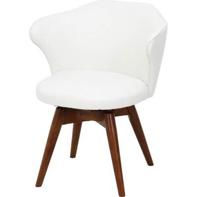 ダイニングチェア 椅子 おしゃれ 北欧 安い 回転 回転式 クッション 座布団 座り心地 アンティーク ソファ ウォールナット ウォルナット 木製 白 ホワイト モダン レザー 合皮 座面高め デザイナー カフェ