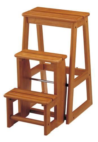 踏み台 ステップ チェア3段 ブラウン 茶色 【踏み台 ステップ はしご 脚立 梯子 1段 足場台 足場 送料無料】