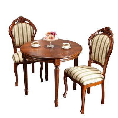ダイニングテーブルセット ダイニングセット おしゃれ 安い 北欧 食卓 正方形 2人用 二人用 丸型 丸テーブル 90 椅子 2脚 高級 天然木 ブラウン アンティーク カフェテーブル