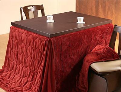 ダイニングテーブルセット ダイニングセット おしゃれ 安い 北欧 食卓 2人用 二人用 コンパクト 小さめ 一人暮らし 105×80 こたつ 昇降式 高さ調整 ロータイプ 低め こたつ布団 回転椅子 2脚 天然木 ブラウン モダン カフェテーブル