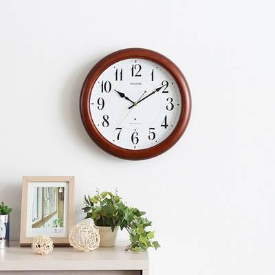電波時計 シンプル 洋風 北欧 時計 壁掛け 壁掛け時計 掛け時計 壁時計 ウォールクロック 掛時計 インテリア時計 デザイン時計 クロック