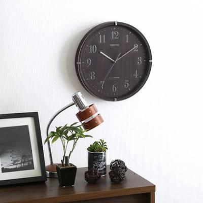 シンプル 洋風 北欧 電波時計 電波式 連続秒針 保証 時計 壁掛け 壁掛け時計 掛け時計 壁時計 ウォールクロック 掛時計 インテリア時計 デザイン時計 クロック