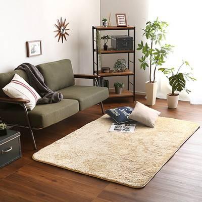 ラグ カーペット おしゃれ ラグマット 絨毯 北欧 安い ふわふわ 厚手 ふかふか もこもこ シャギーラグ あったか 130×190 2畳 洗える マット 極厚