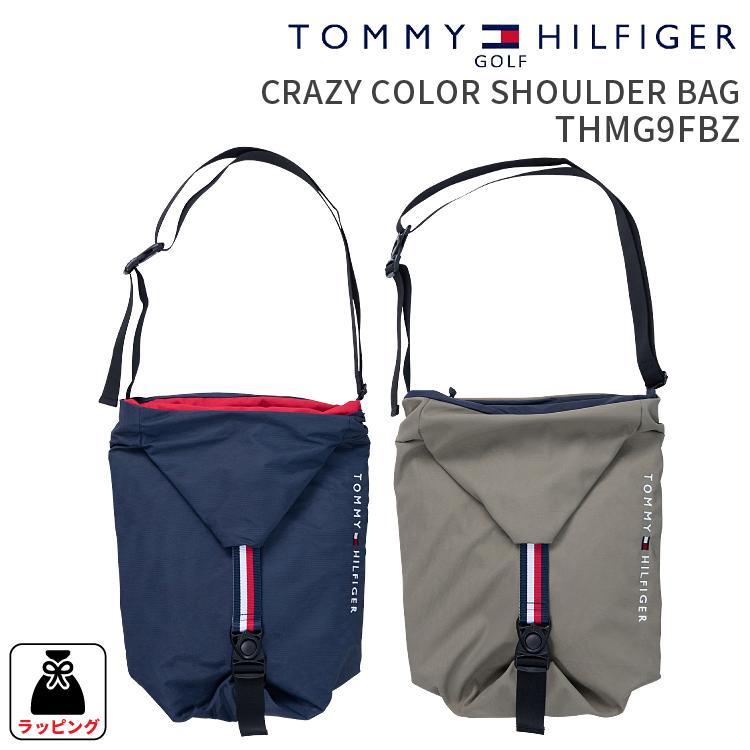 トミーヒルフィガーゴルフ ショルダーバッグCRAZY COLOR SHOULDER BAG THMG9FBZクレイジーカラーショルダーバッグ 2019FWショルダーバッグ ワンショルゴルフ用品 ギフト 贈り物