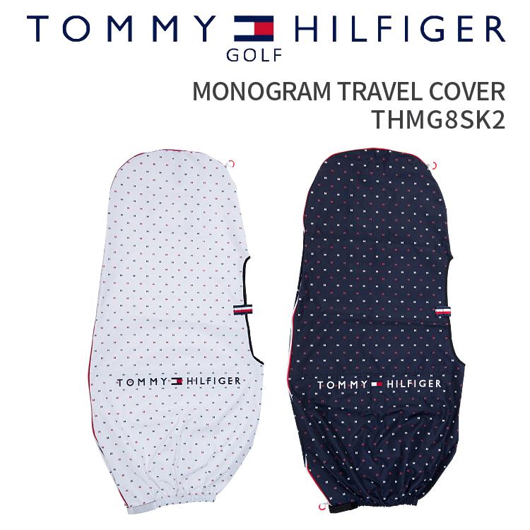 モノグラムトラベルカバー トミーヒルフィガーゴルフMONOGRAM TRAVEL COVER THMG8SK22018年春夏モデルプレゼント ギフト 単品