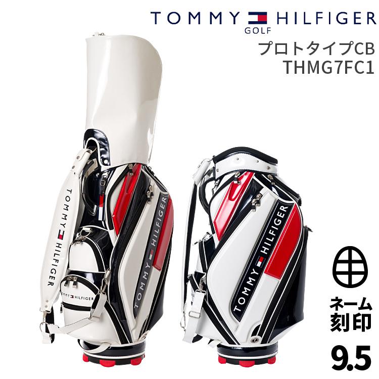 トミーヒルフィガーゴルフ キャディバッグTOMMY HILFIGER GOLF THMG7FC1カートキャディバッグプロトタイプCB【ネーム刻印サービス】