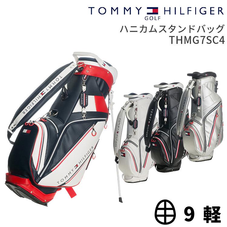 トミーヒルフィガー ゴルフ キャディバッグTOMMY HILFIGER GOLF THMG7SC42017年新作 スタンドキャディバッグハニカムスタンドバッグ