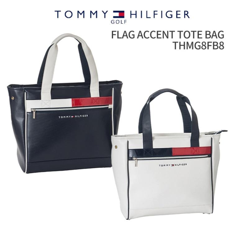 トミーヒルフィガーゴルフ FLAG ACCENT TOTE BAG THMG8FB82018年秋冬モデル新作 バッグ BAGTOMMY HILFIGER GOLFフラッグ アクセント トートバッグラウンドバッグ ゴルフ用品 ギフトオフィス ビジネスバッグ