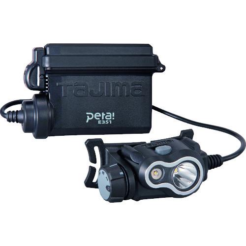 株 クリアランスsale 卸直営 期間限定 TJMデザイン タジマ シルバー LE-E351-SPS ペタLEDヘッドライトE351セット