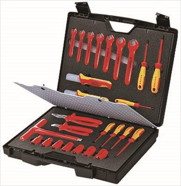 クニペックス KNIPEX クニペックス 989912 絶縁工具セット(989912)