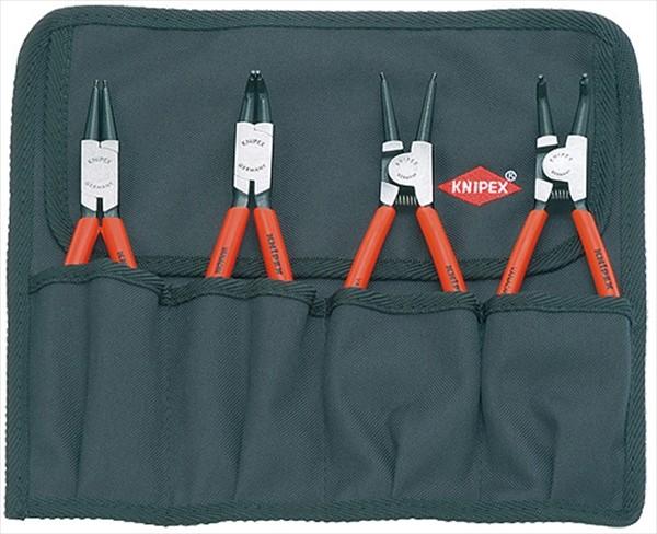 KNIPEX クニペックス 001956 スナップリングプライヤーセット (4本組)(001956)