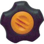 新品 三星産業貿易 株 お得セット 三星 フィットノブ M12 本体 橙 キャップ FIT-K-M12-O-5P 黒 5個入り
