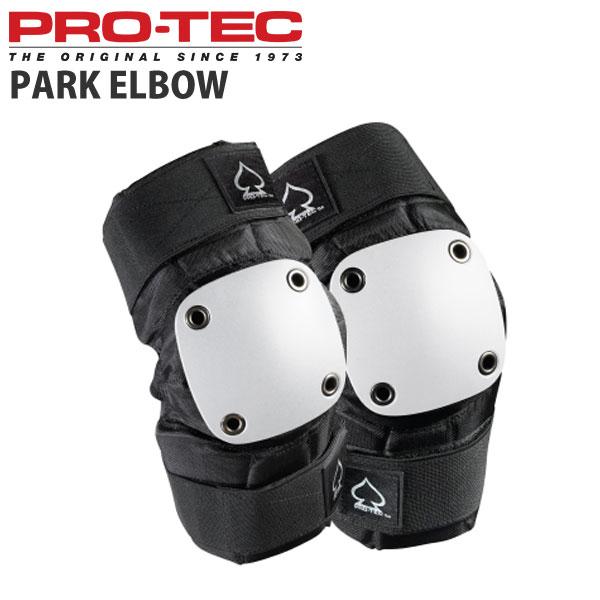 軽くて安心設計 PROTEC プロテック プロテクター オンライン限定商品 PARK ELBOW インライン用 スケートボード クエストン 情熱セール スケボー WHT BLK