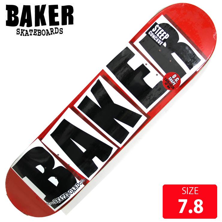 BAKER ベイカー デッキBRAND LOGO BLACK DECK 7.88 BAD-292 skateboard スケートボード スケボー