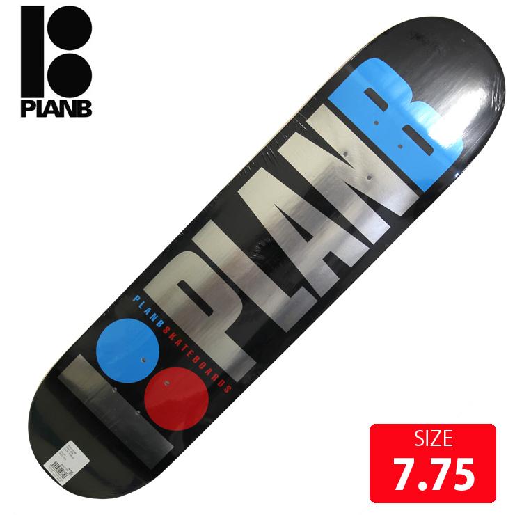 PLAN B プランビー デッキ TEAM OG FOIL  DECK 7.75 PBD-389 スケートボード skateboard スケボー