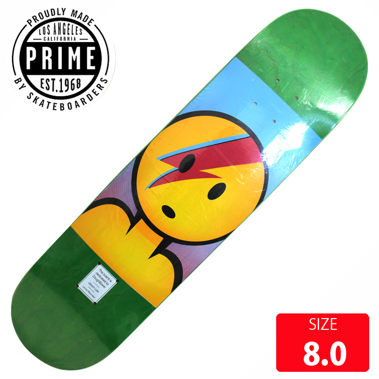 PRIME プライム デッキ Lance Mountain DoughBowie Popsicle DECK 8.0 PMD-004 skateboard スケートボード スケボー 【クエストン】