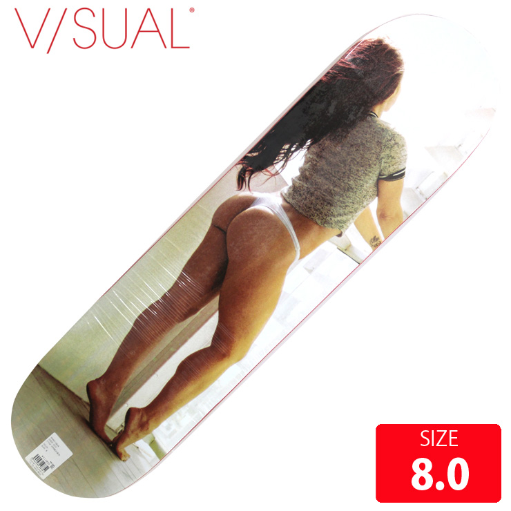 VISUAL ビジュアル デッキ VERANDA DECK 8.0 VSD-010 skatebaord スケートボード