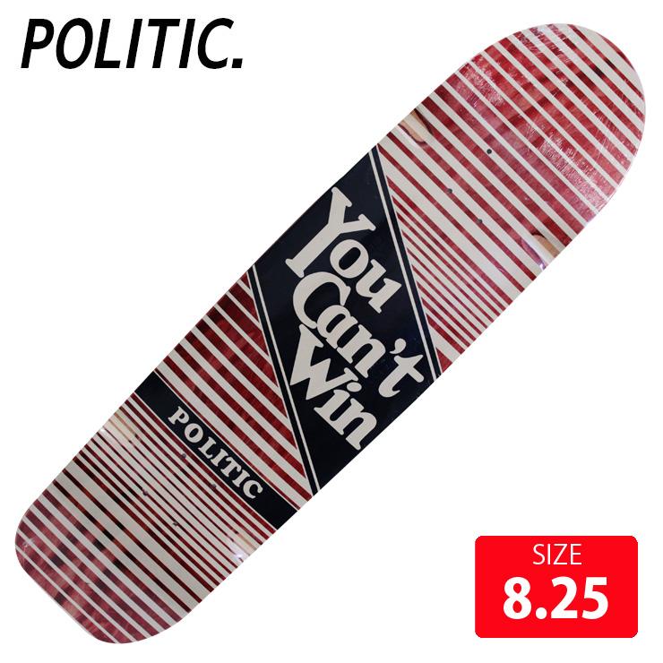 PORITIC ポリティック デッキ YCM DECK 8.25 POD-014 スケボー スケートボード SKATEBOARD 【クエストン】