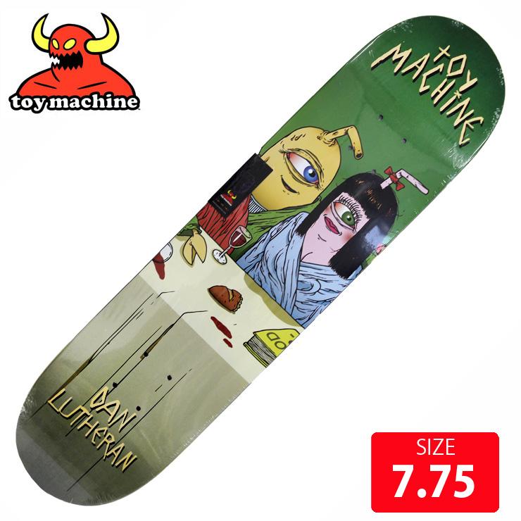 TOYMACHINE トイマシーン デッキ LUTHERAN LAST SUPPER DECK 7.75 TMD-153 スケートボード skateboard