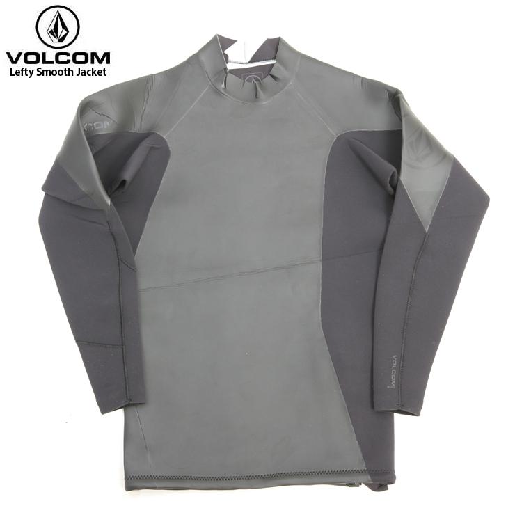 VOLCOM ボルコム メンズ Lefty Smooth Jacket BLK N1611602 ラッシュガード ウエットスーツ サーフ 【クエストン】